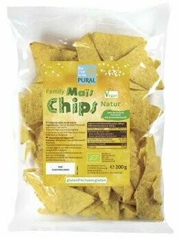 Mais-Chips Natur Familypack, 200 g