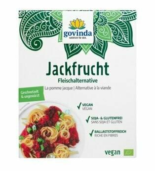 Jackfrucht Fleischalternative geschnetzelt & ungewürzt, 200 g