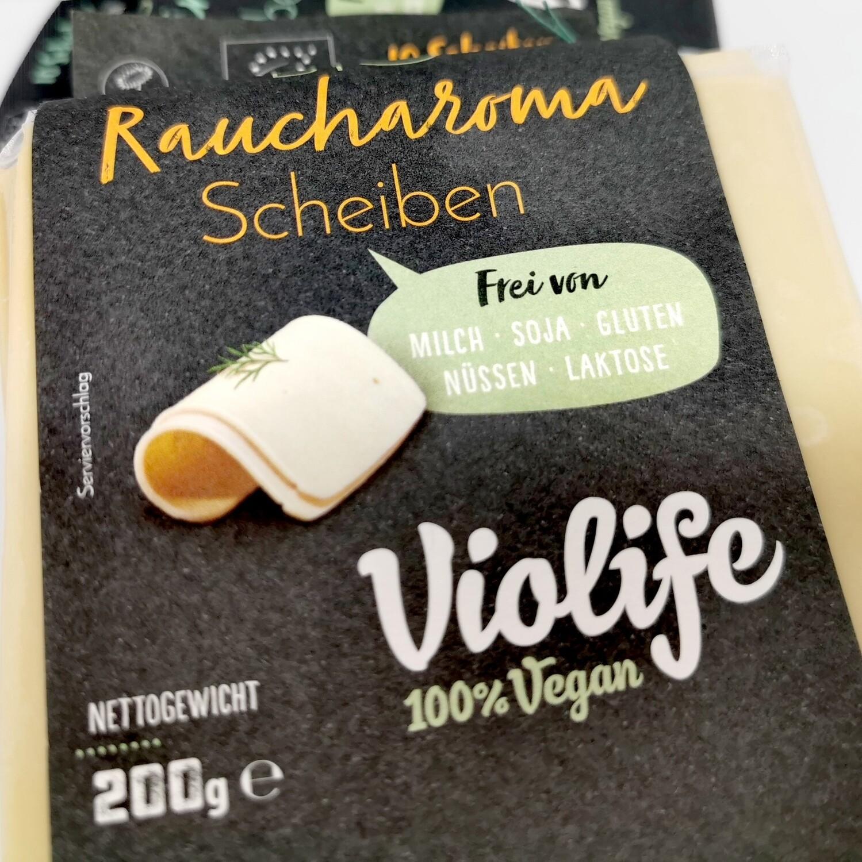 Vegane Käsescheiben, Raucharoma, 200 g