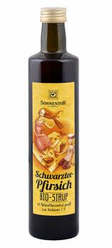 Schwarztee-Pfirsich-Eistee Sirup, 500 ml