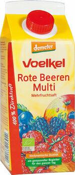 Roter Beeren-Multi Mehrfr.saft demeter Elopak, 750 ml