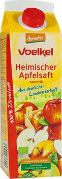 Apfelsaft naturtrüb demeter Elopack, 1 l