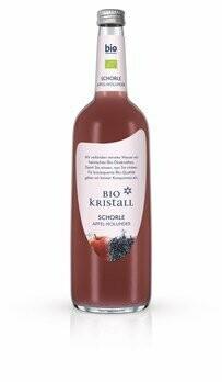 Bio KristallApfel-Holunder Schorle, 750 ml