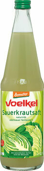 Sauerkrautsaft milchsauer fermentiert demeter, 700 ml