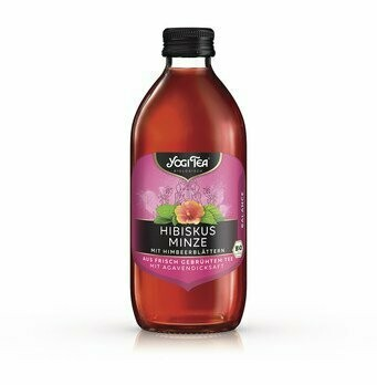Teekaltgetränk Hibiskus Minze, 330 ml