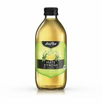 Teekaltgetränk Mate Zitrone, 330 ml