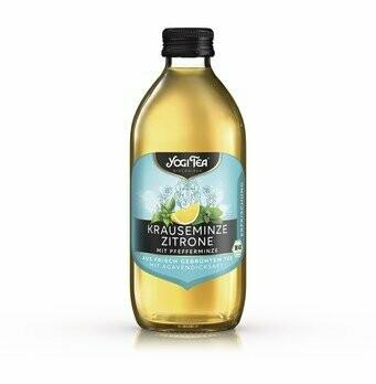 Teekaltgetränk Krauseminze Zitrone, 330 ml