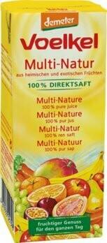 Multi-Natur Direktsaft demeter Tetrapack, 200 ml