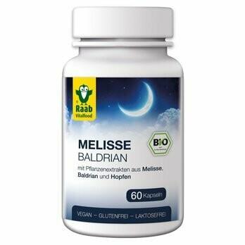 Melisse Baldrian Kapseln à 480 mg, 60Stk