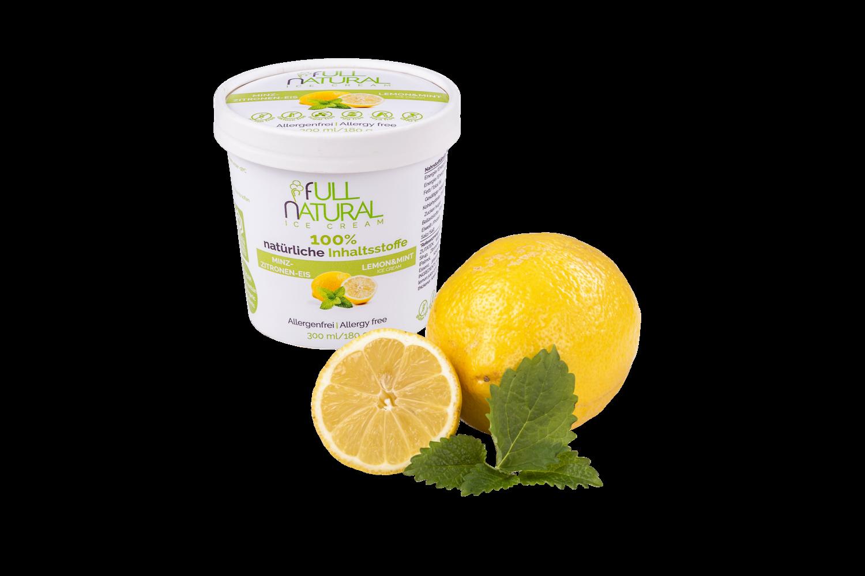Minz-Zitronen-Eis
