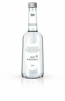 Bio Kristall still Mineralwasser Gastroflasche, 330 ml