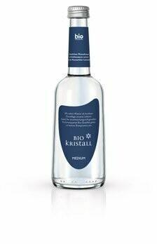 Bio Kristall medium Mineralwasser Gastroflasche, 330 ml