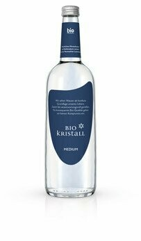 Bio Kristall medium Mineralwasser, 750 ml
