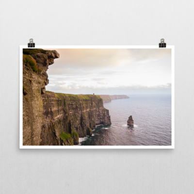 Cliffs of Moher at Sunset, Ireland