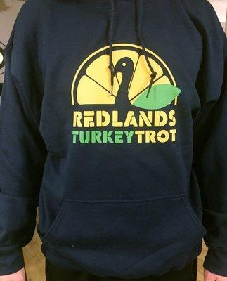Redlands Turkey Trot Hoodie Sweatshirt
