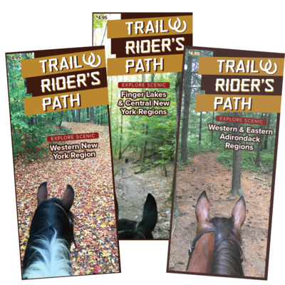 TRP Equestrian NY Trail Guides (Set of 3)