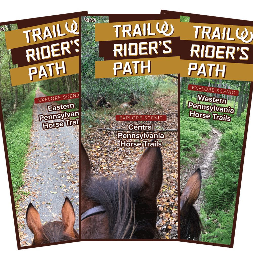TRP Equestrian PA Trail Guides (Set of 3)