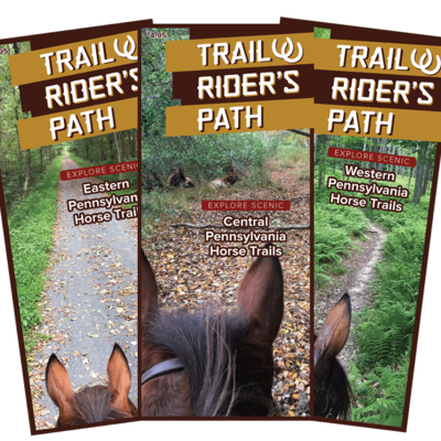 TRP Equestrian PA Trail Guides (Set of 3) - SHOW SPECIAL!