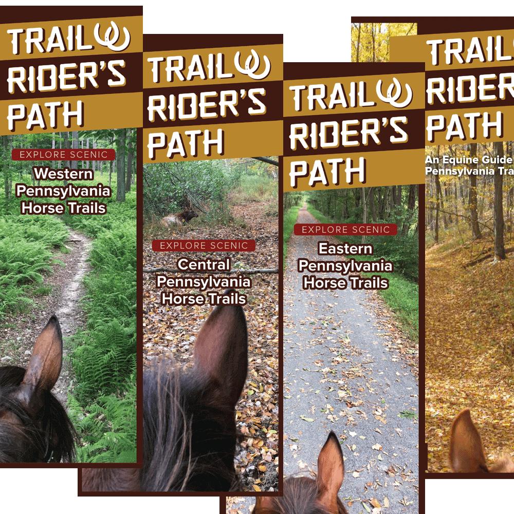 TRP Equestrian Trail Guide - (Set of 4) - Pennsylvania - SPECIAL!
