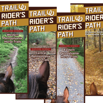 TRP Equestrian Trail Guide - (Set of 4) - Pennsylvania - SPECIAL!