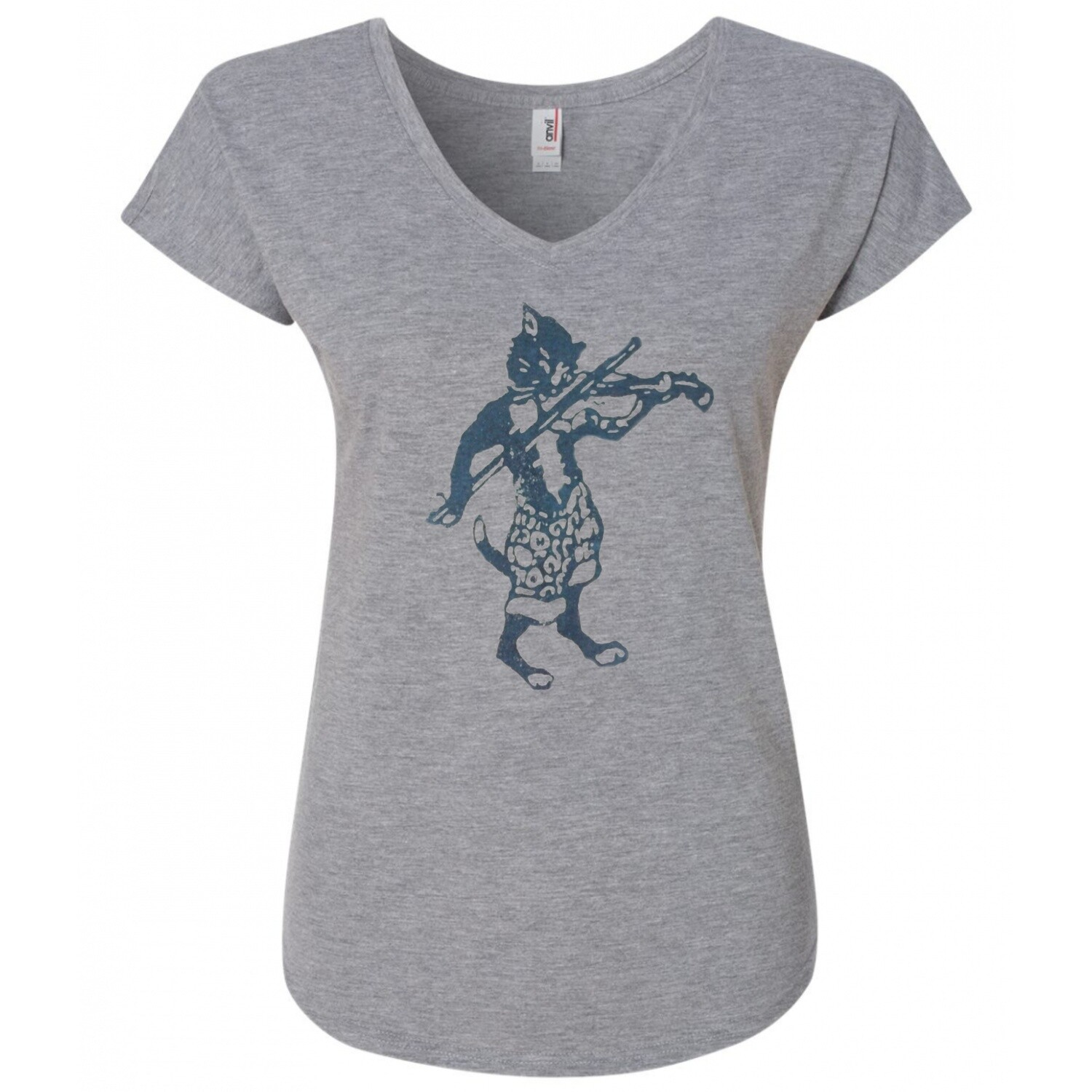 Women's Fiddle Cat T-shirt