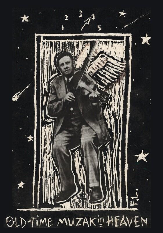 Old Time Muzak in Heaven - Fiddlin' John Carson Mixed Media by Frank Lee