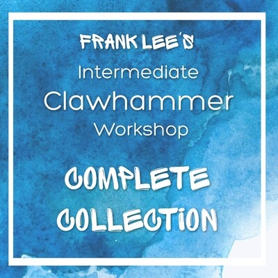 Intermediate Clawhammer Banjo Workshop - Collection of Eight Tunes with Tab, Recording, and Slowed-down Recording for Each Tune