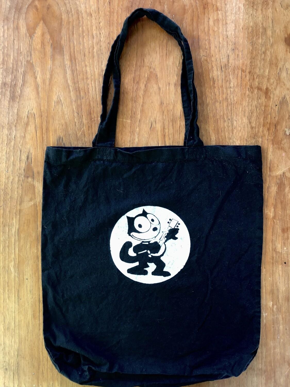 Felix the Cat Black Tote Bag