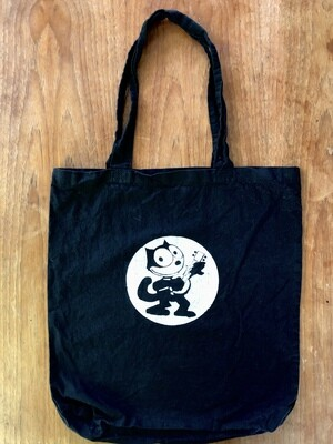 Felix the Cat Black Tote Bag