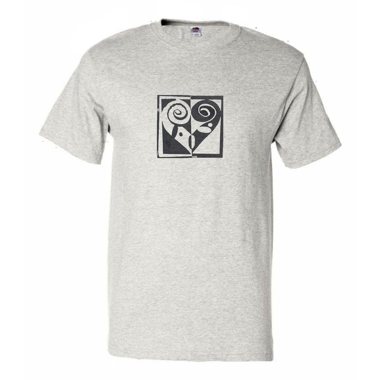 Men's Fiddle Heart T-shirt