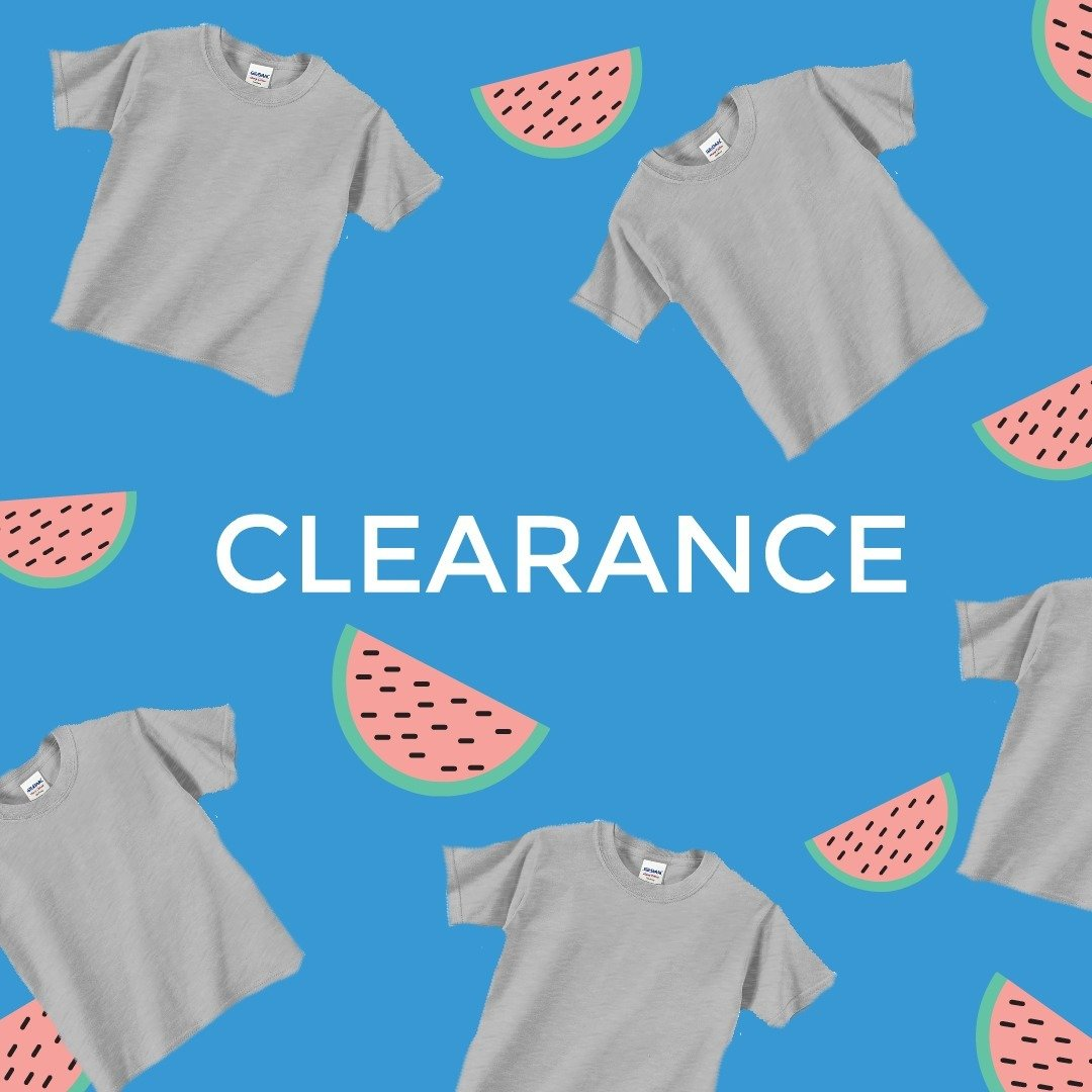 CLEARANCE T-SHIRTS!