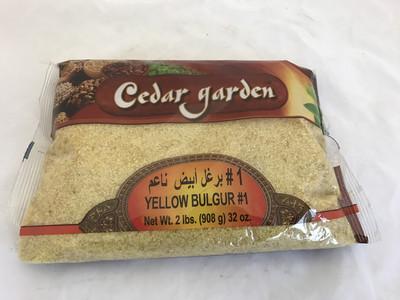 Cedar garden Yellow bulgur # 1 fine 12x2lb