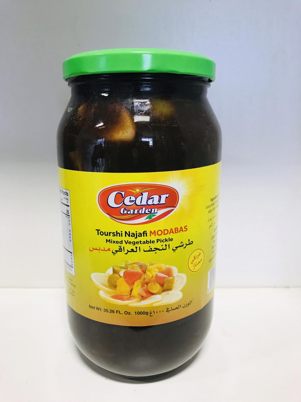 Cedar garden tourshi najafi modabas pickle 1 kilo