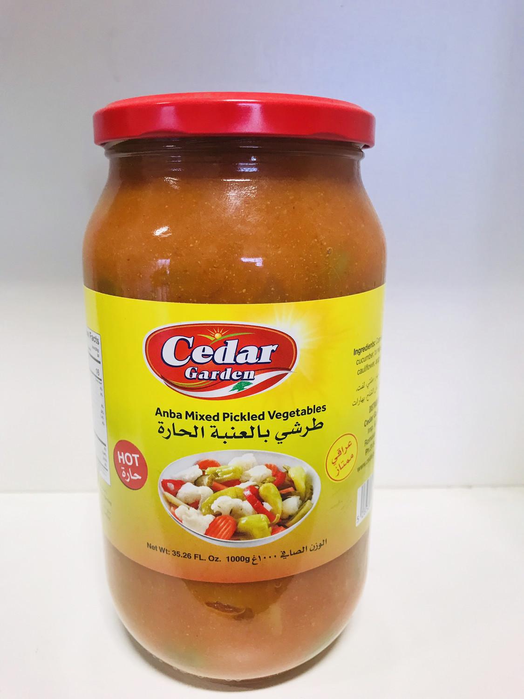 Cedar garden Anba  hot mixed pickle 1kg
