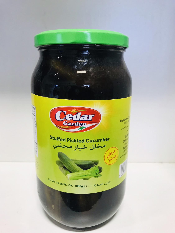 cedar garden stuffed pickle cucumber 1 kilo