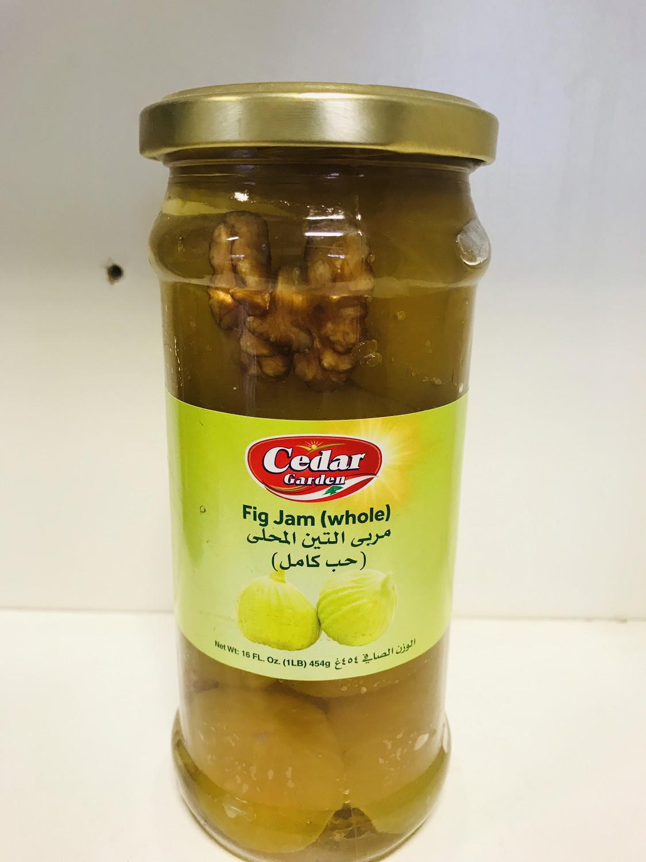 Cedar garden fig Jam (whole) 1 lb