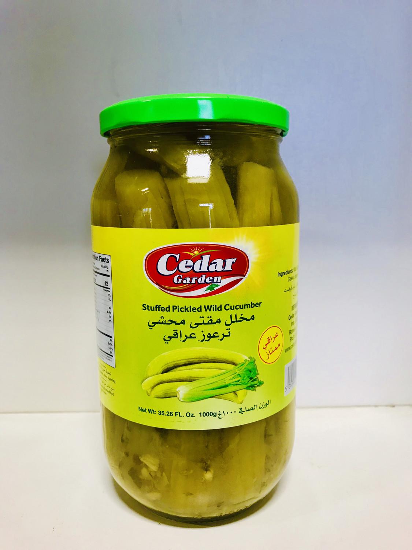 Cedar garden stuffed wild cucumber pickle 12x1kg
