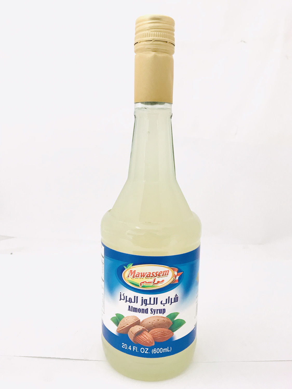 Mawassem almond  syrup 12x600ml