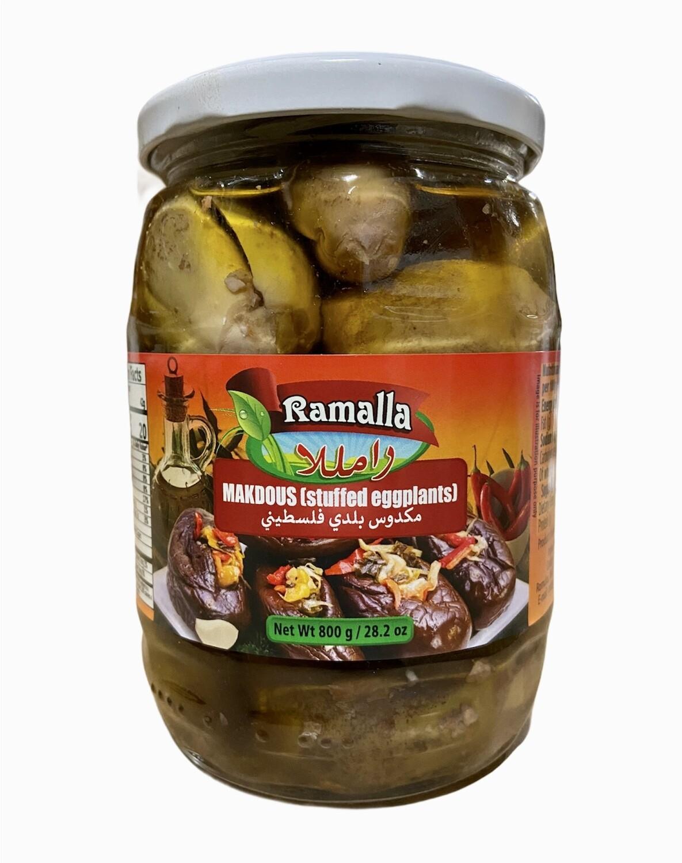 Ramalla Palestinian Mackdous Eggplant In Oil 12x800g