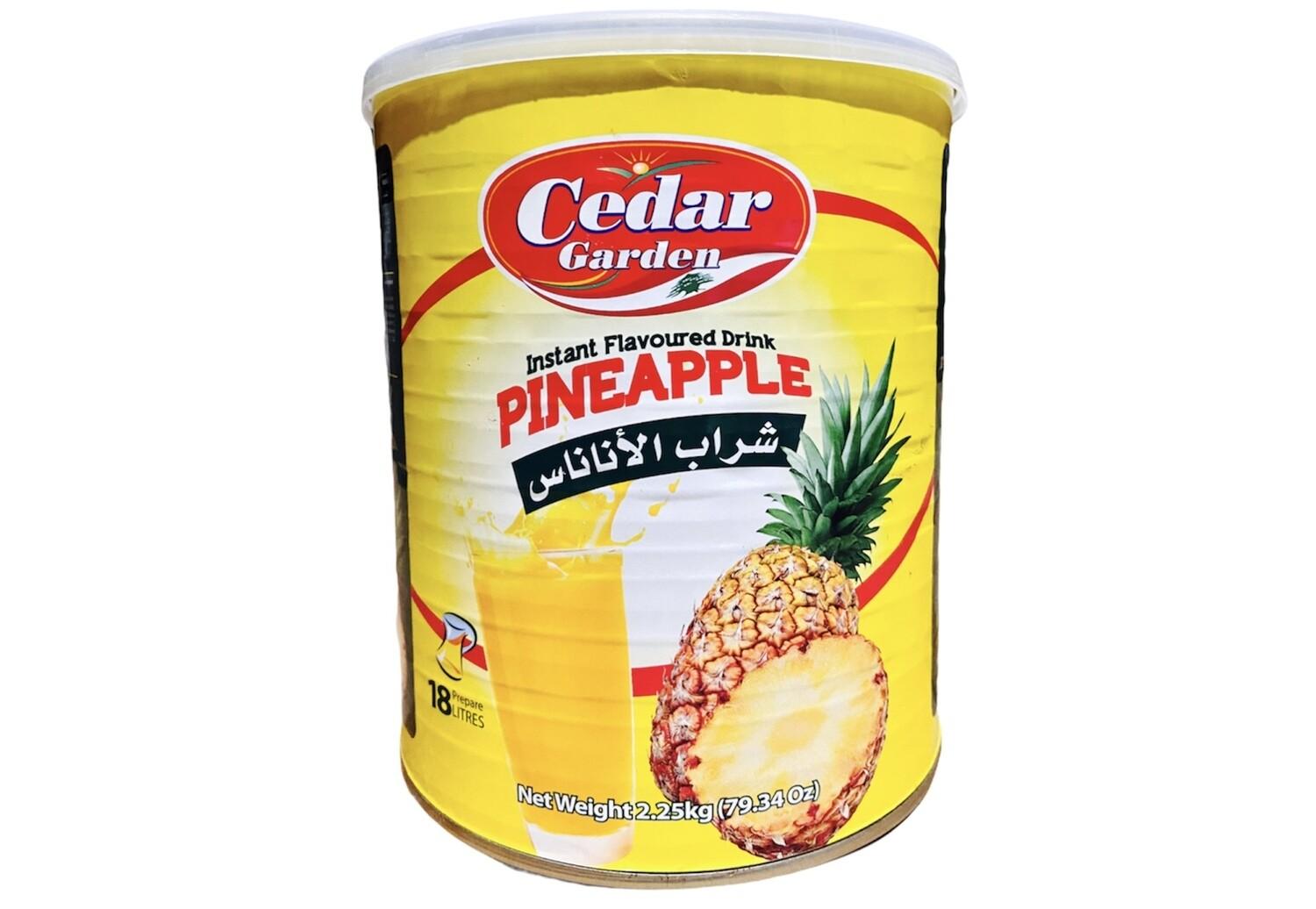 Cedar Garden Pineapple Instant Powder Drink 6x2.5g