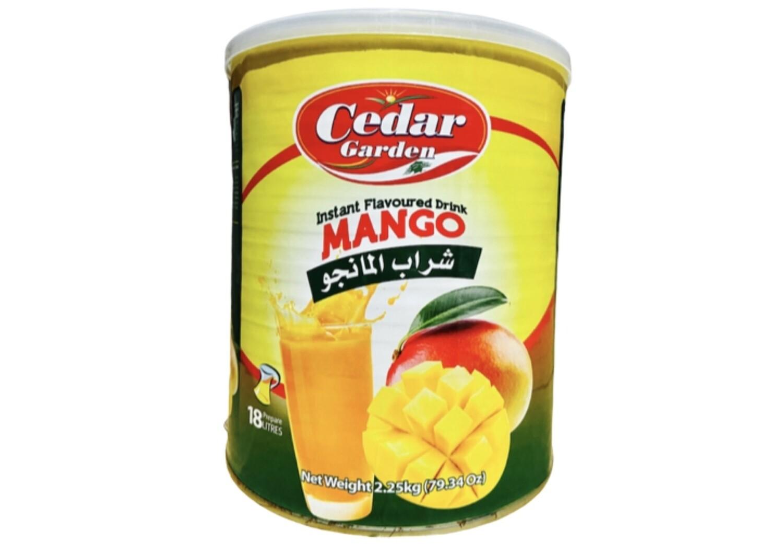 Cedar Garden Mango Instant Powder Drink  6x2.5kg