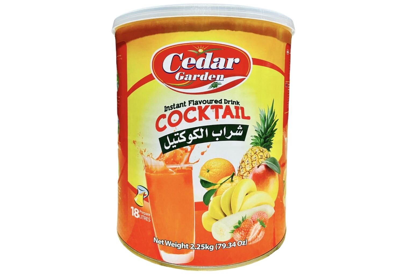 Cedar Garden Cocktail Instant Powder Drink 6x2.5kg
