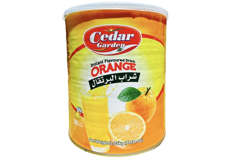 Cedar Garden Orange Instant Powder Drink 6x2.5kg