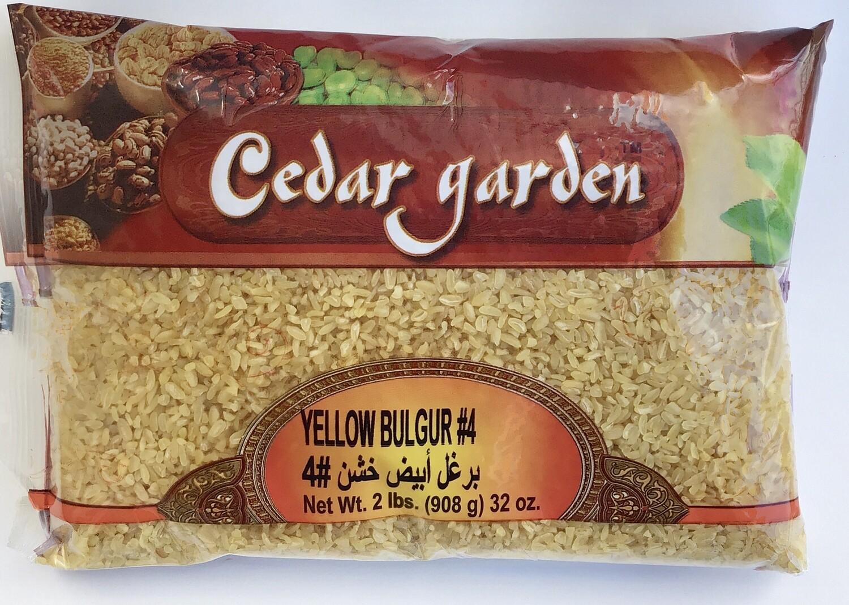 Cedar Garden Yellow Bulgur #4 12x2lb