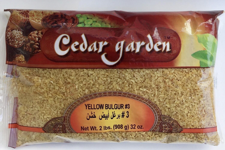 Cedar Garden Yellow Bulgur #3 12x2lb