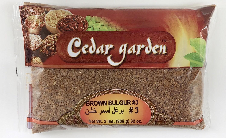 Cedar Garden Brown Bulgur #3 12x2lb