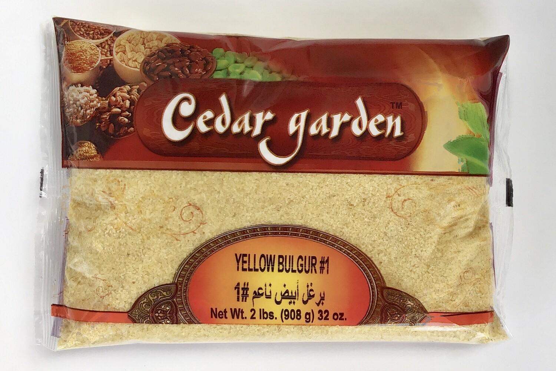 Cedar Garden Yellow Bulgur #1 12x2lb