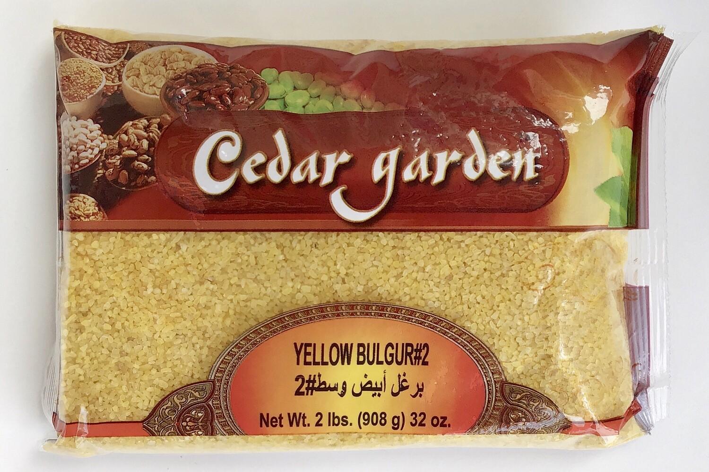 Cedar Garden Yellow Bulgur #2 12x2lb