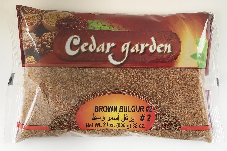 Cedar Garden Brown Bulgur #2 12x2lb