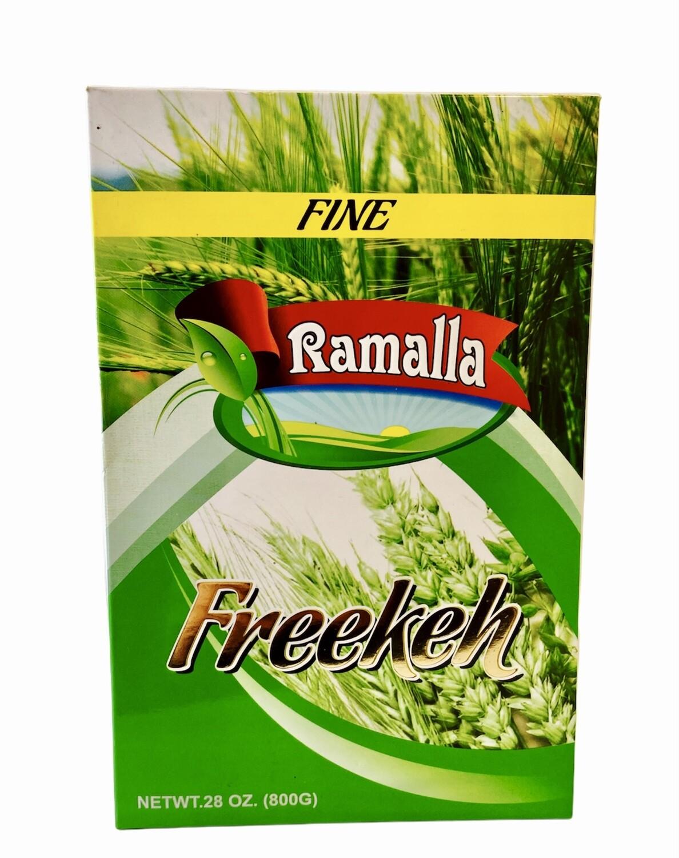 Ramalla Green Freekeh Fine 12 x 800g